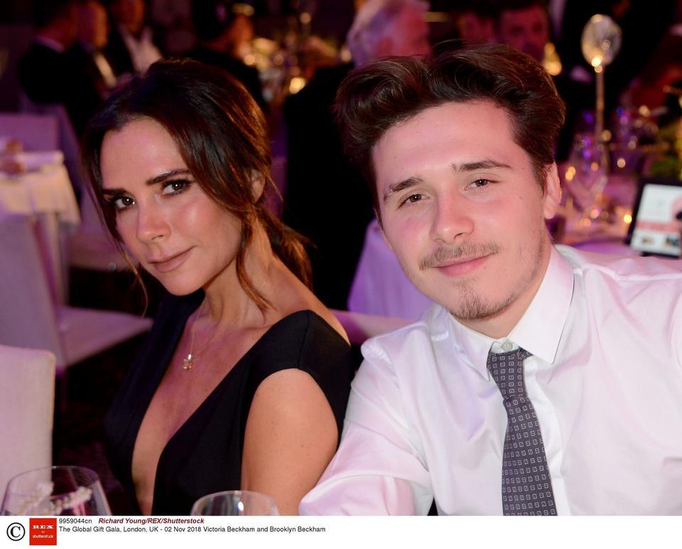 Victoria Beckham z synem