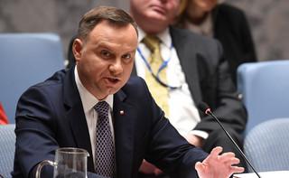 Prezydent: Prawo weta w Radzie Bezpieczeństwa powinno być ograniczone