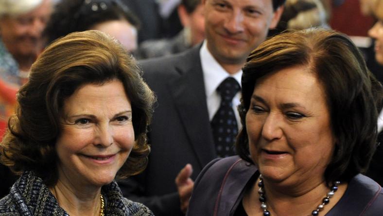 """Królowa Szwecji Sylwia oraz Małżonka Prezydenta Anna Komorowska wzięły udział w konferencji """"O godność dziecka z niepełnosprawnością"""""""