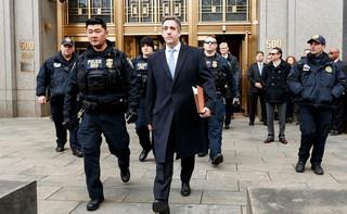 USA: Były prawnik Trumpa, Michael Cohen, skazany na trzy lata więzienia
