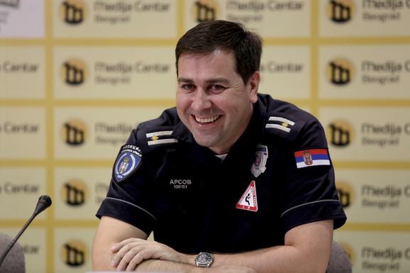 Nebojša Arsov, Saobraćajna policija