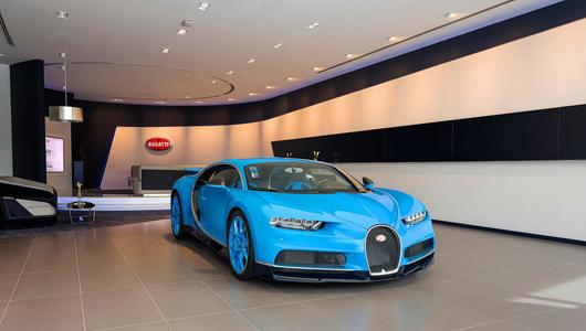 Największy salon Bugatti na świecie