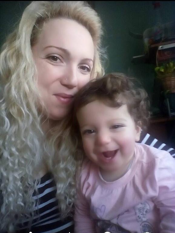 Sofija i njena mama Nina