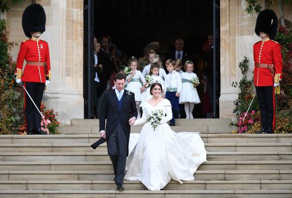 Princeza Judžin na raskošnom venčanju