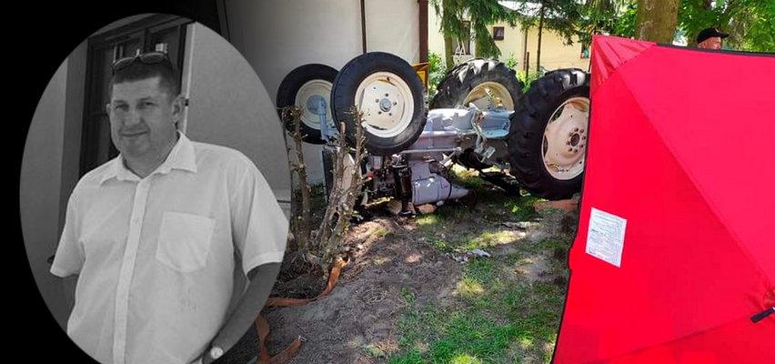 Makabryczny wypadek pod Lubartowem. Zginął radny Robert Piętka