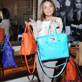 Gwiazdy i nowa kolekcja modnych torebek