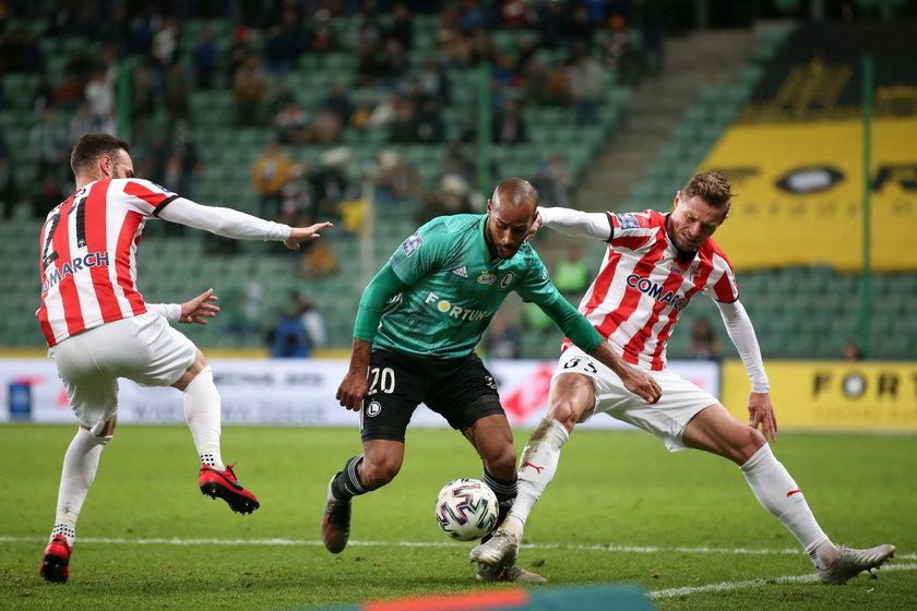 Pilka nozna. PKO Ekstraklasa. Legia Warszawa - Cracovia. 29.02.2020