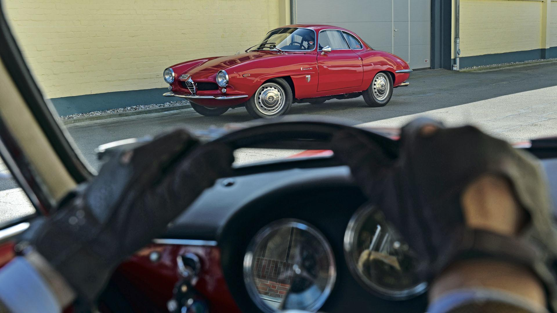 Alfa Romeo Giulia Sprint Speciale klasyk wiecznie piękny