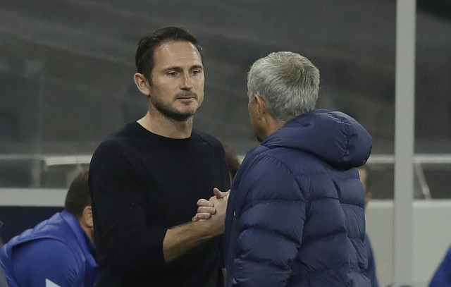 Žoze Murinjo i Frenk Lampard