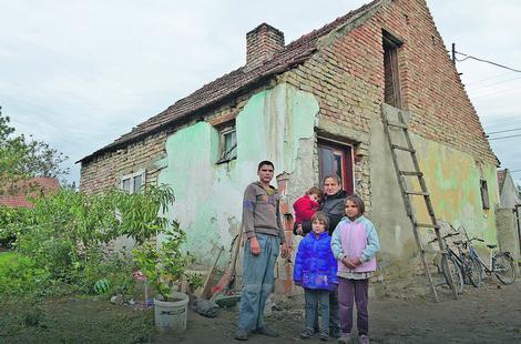 UDŽERICA: Kuća u kojoj je porodica Rofa dosad živela