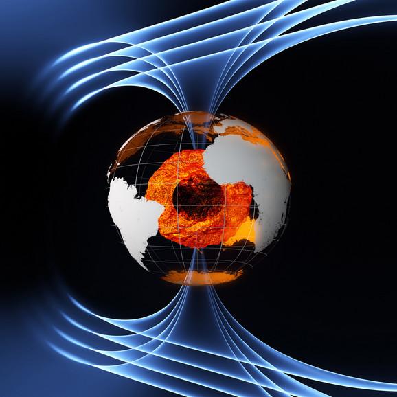 Magnetno polje, Planeta,