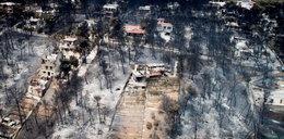 Przerażające nagranie. Tak wygląda Grecja po śmiertelnych pożarach