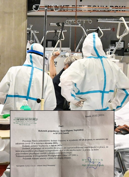 Tak zarabiają pracownicy szpitali walczący z pandemią. To się w głowie nie mieści...