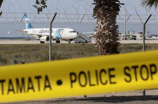 Cypryjski prezydent: Porwanie samolotu nie ma związku z terroryzmem