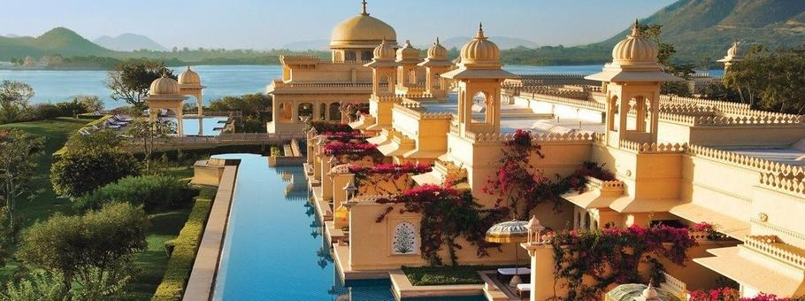 6. The Oberoi Udaivilas (Indie)