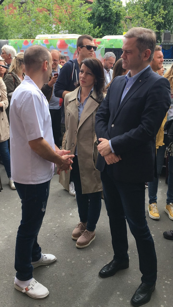 Đuraj sa Marinkom Tepić i Borkom Stefanovićem