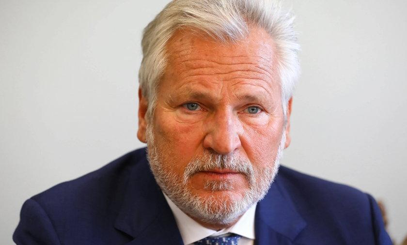 Aleksander Kwaśniewski - jego głos wciąż liczy się w polityce.