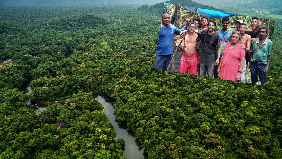 Pilot przetrwał 36 dni w amazońskim lesie