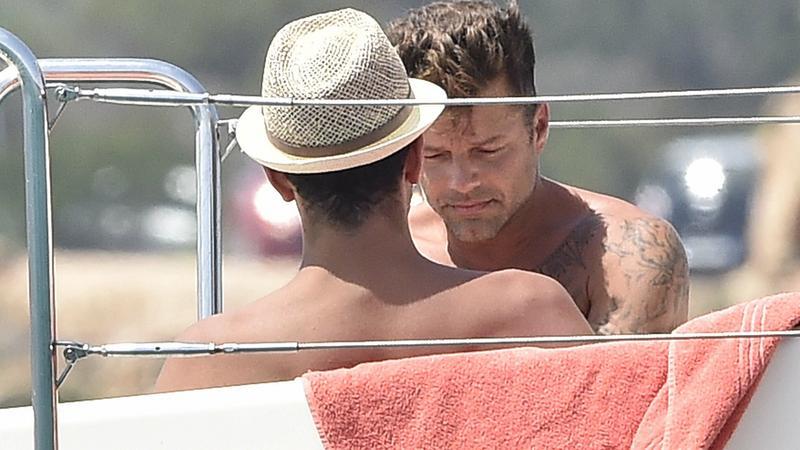 Ricky Martin z chłopakiem na wakacjach