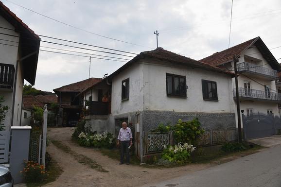 Kuća u kojoj je živeo osumnjičeni za ubistvo