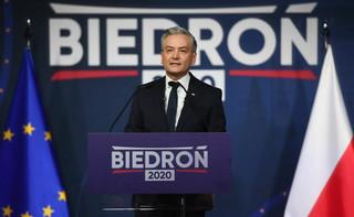 Biedroń: PiS doprowadził do całkowitego upartyjnienia państwa