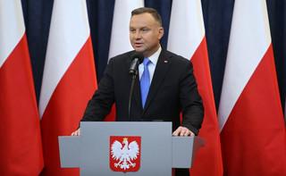 Duda: Zaproponowałem premierowi, aby wystąpił o wyrażenie wotum zaufania dla rządu