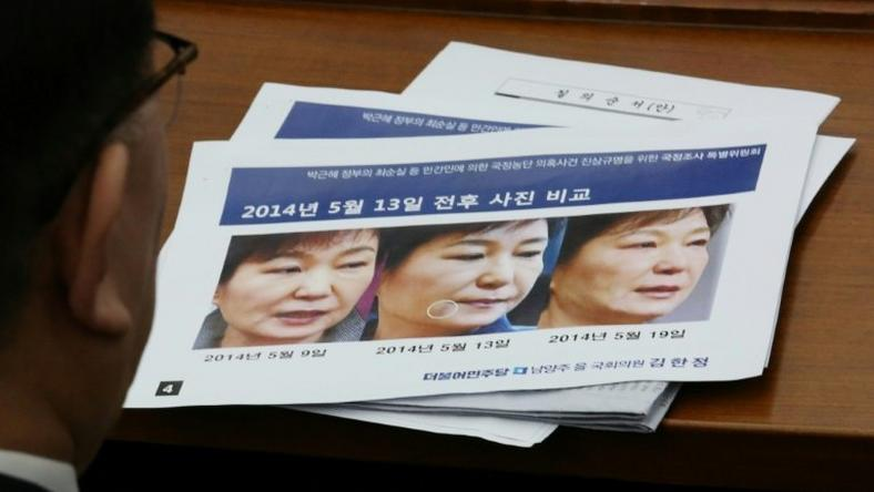 Park Geun-Hye was injected with human placenta extract, an inquiry hears