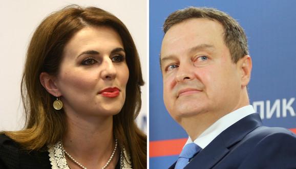 Ivica Dačić, Vljora Čitaku