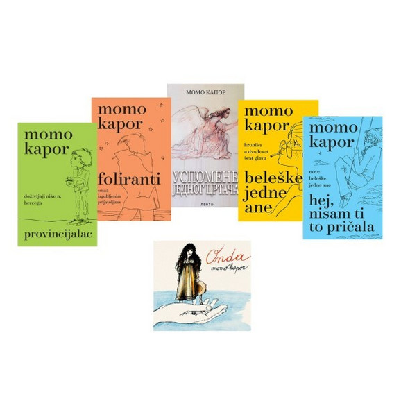 Komplet knjiga 5+1 gratis, Momo Kapor