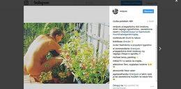 Reni Jusis nago w ogrodzie? Fani będą rozczarowani