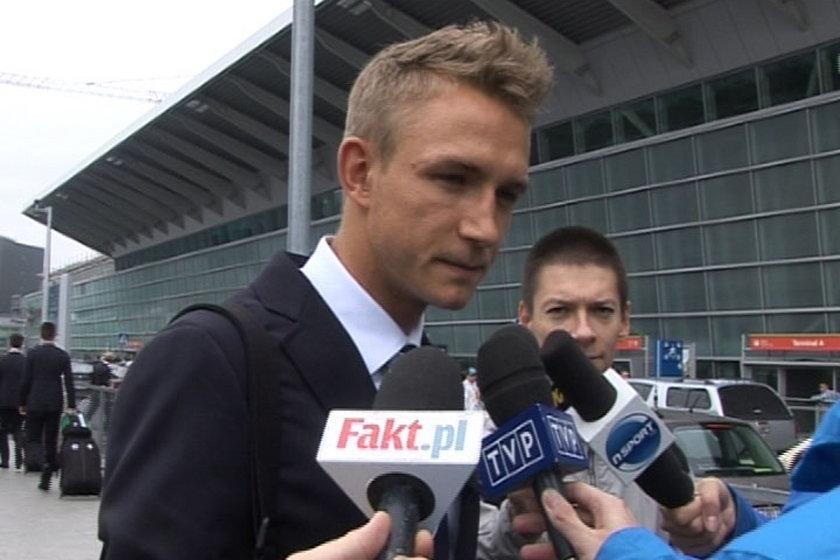 Legia Warszawa przed wylotem do Rzymu na mecz z Lazio