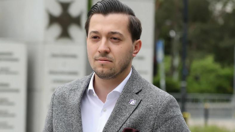 Zastępca rzecznika Porozumienia Jan Strzeżek