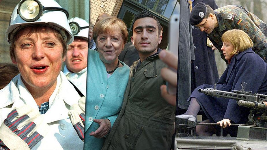 Angela Merkel (fot. PAP/Getty Images)