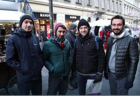 Grupa turskih turista
