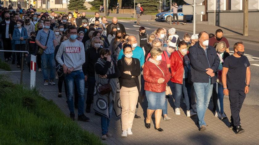 Marsz w Ciszy przeszedł ulicami Brzezin