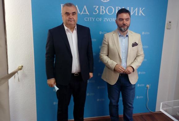 Zoran Stevanović i Staša Košarac