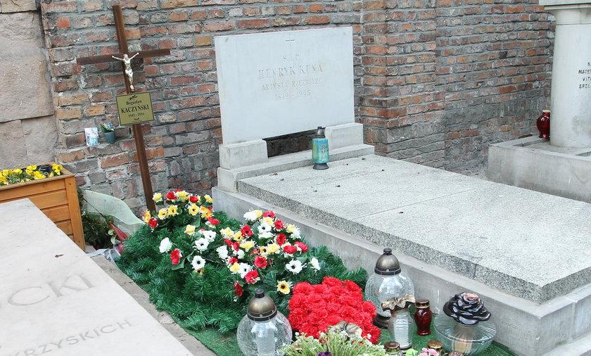 Grób Bogusława Kaczyńskiego