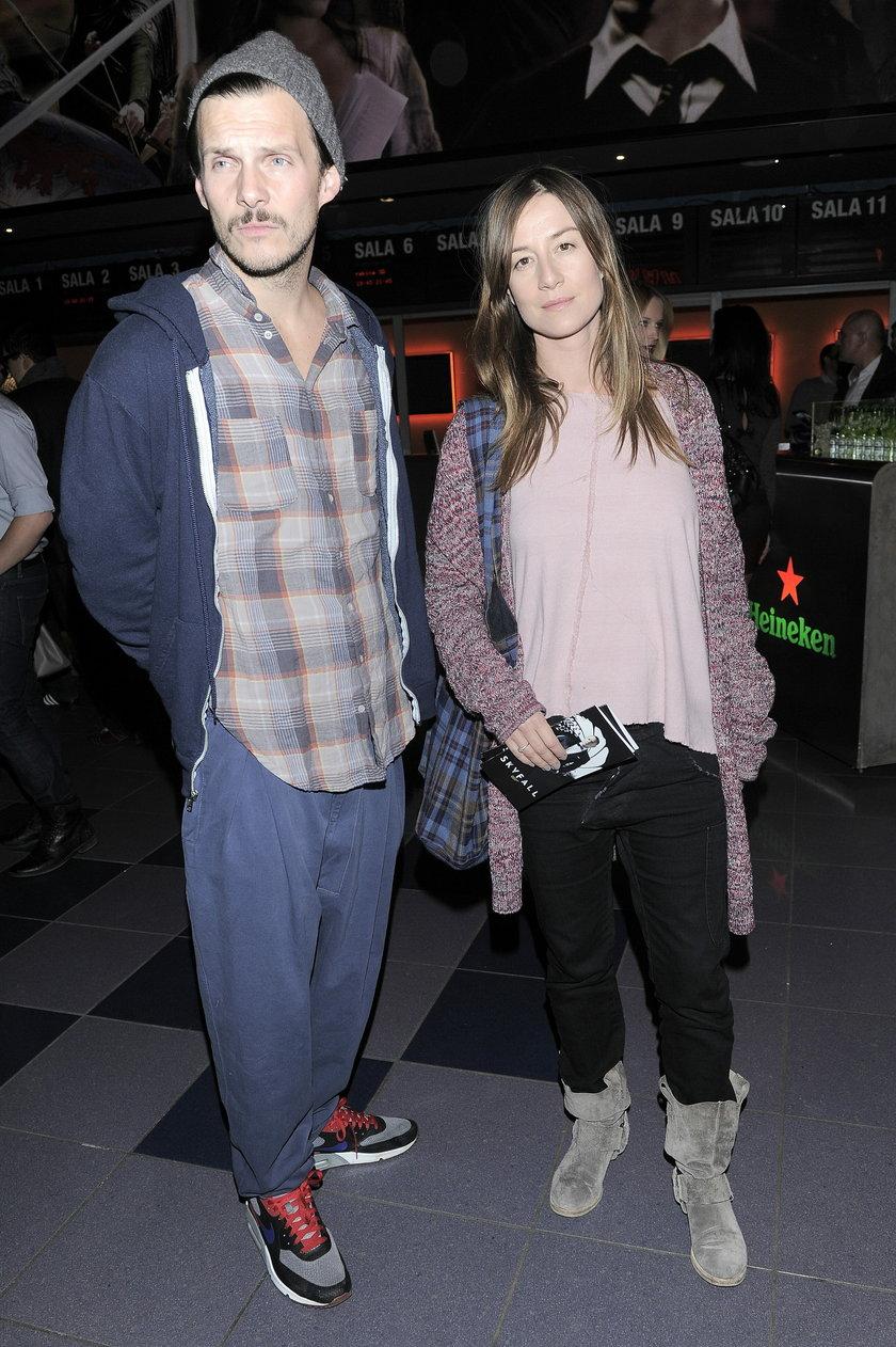 Michał Englert i Maja Ostaszewska