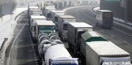Armagedon na granicy Czech z Niemcami. Kolumna ciężarówek miała ponad 25 km!
