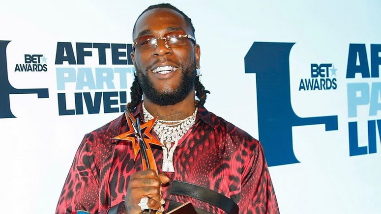 Burna Boy has joined a growing list of Nigerians music stars who have won the BET award for Best International act. [Instagram/MTVBaseAfrica]