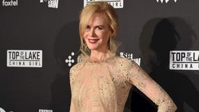 "Nicole Kidman na premierze serialu ""Tajemnice Laketop 2"""