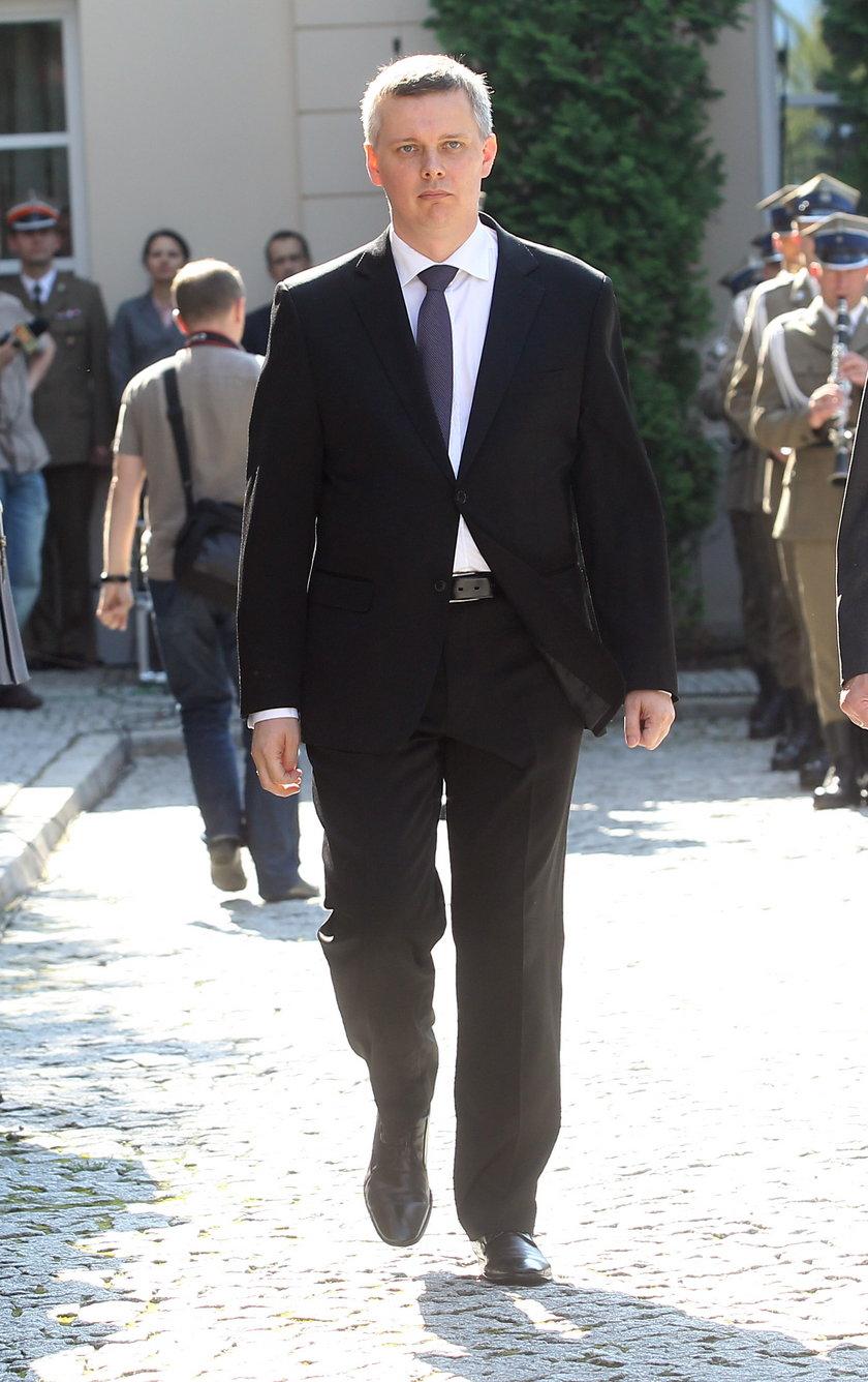 Minister MON Tomasz Siemoniak