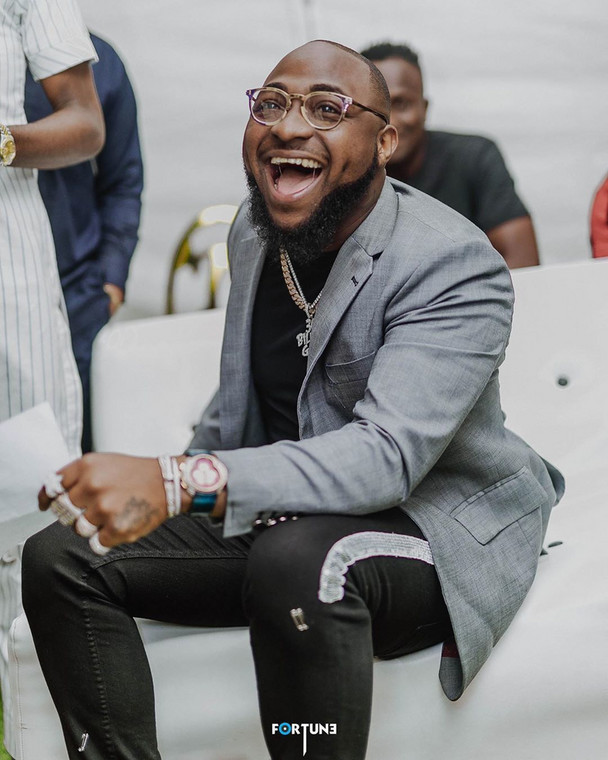 Davido's father, Adeleke Adedeji, is one of the richest men in Nigeria. [Instagram/DavidoOfficial]