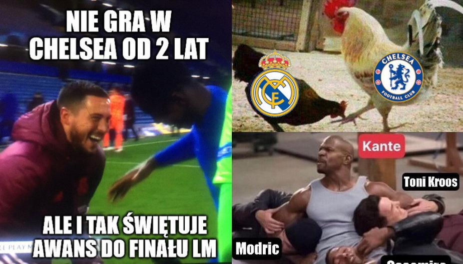 Chelsea zagra w finale Ligi Mistrzów! Memy po meczu z Realem Madryt