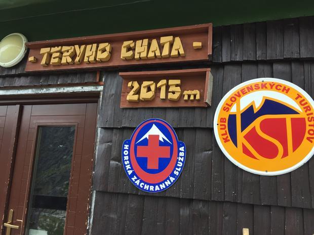 Drzwi wejściowe do Chaty Teryho