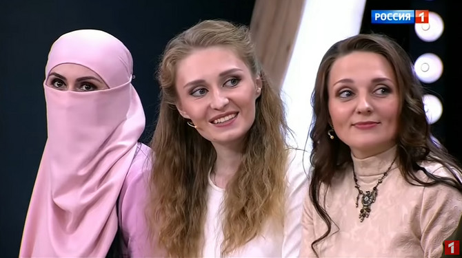 Madina, Natalija i Ana se odlično slažu