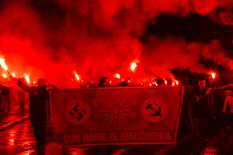 Makedonija Skoplje protest EPA GEORGI LICOVSKI