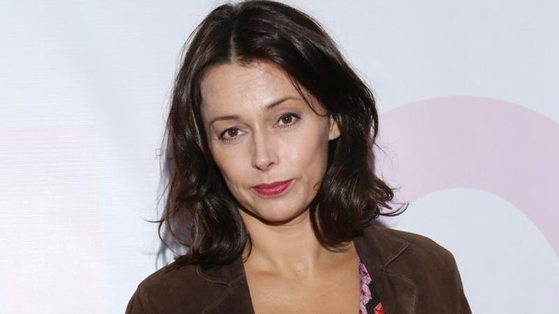 Renata Dancewicz (Na Wspólnej) na pokazie marki Ana Cichosz