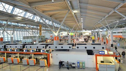Terminal A na warszawskim Lotnisku Chopina