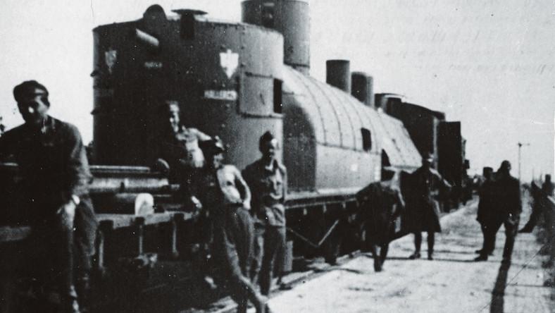 """Pociąg pancerny """"Hallerczyk"""", 1920"""
